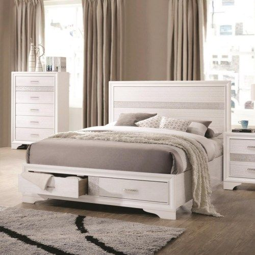 Best Coaster Miranda King Storage Bed With 2 Dovetail Drawers 400 x 300