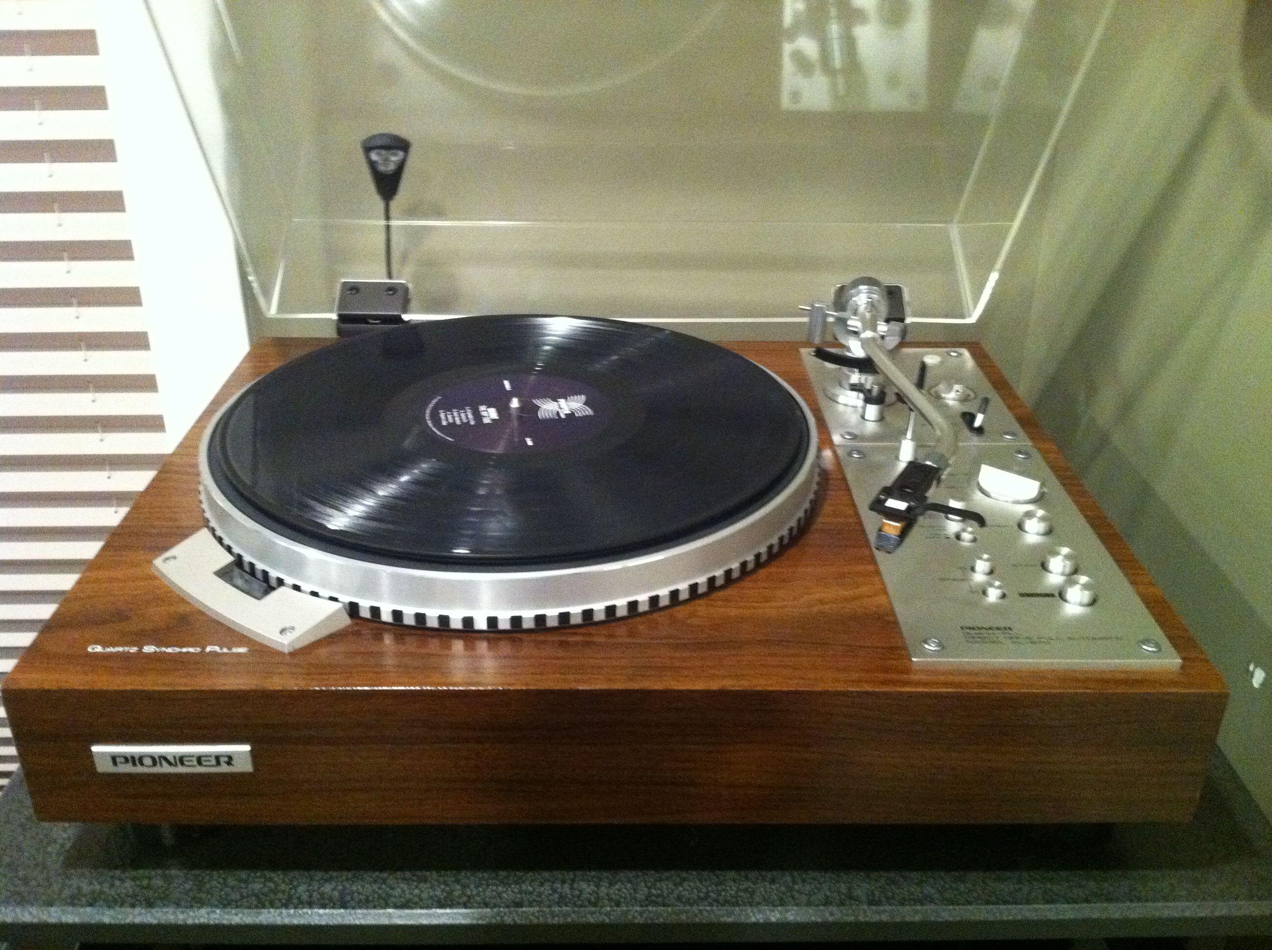 Pioneer Pl 570 Vintage Turntable Turntable Audiophile Vinyl Player