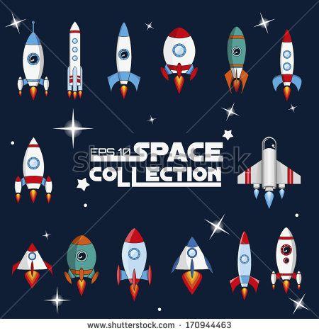 spaceship vector stock vector source for drawing pinterest rh pinterest com spaceship vector free download spaceship vector file