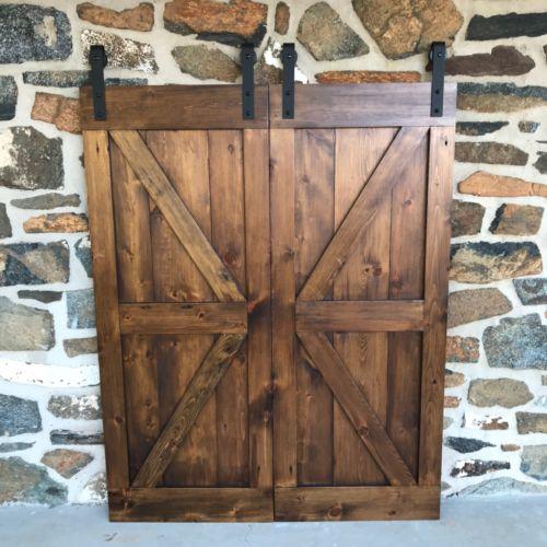 Bi Parting Barn Doors Mini Barn Door Hardware Rustic Barn Door