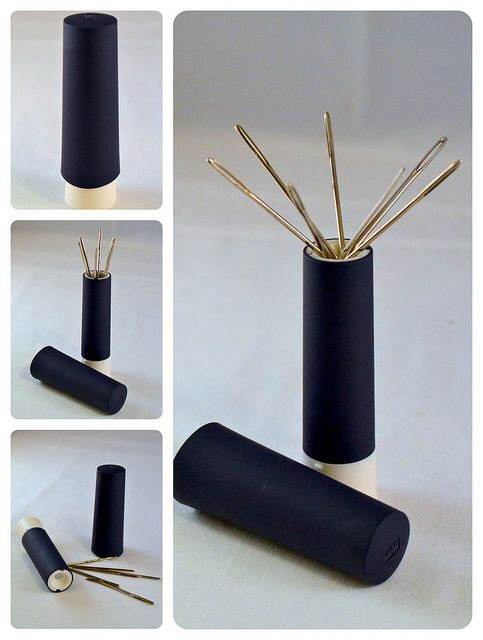 Accessories Needles Holder Syringe Portable DIY Simple Creative Pins Container