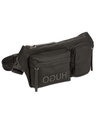 ad396f57177 Hugo Boss Men s Record Nylon Waist Bag - Black   Products ...