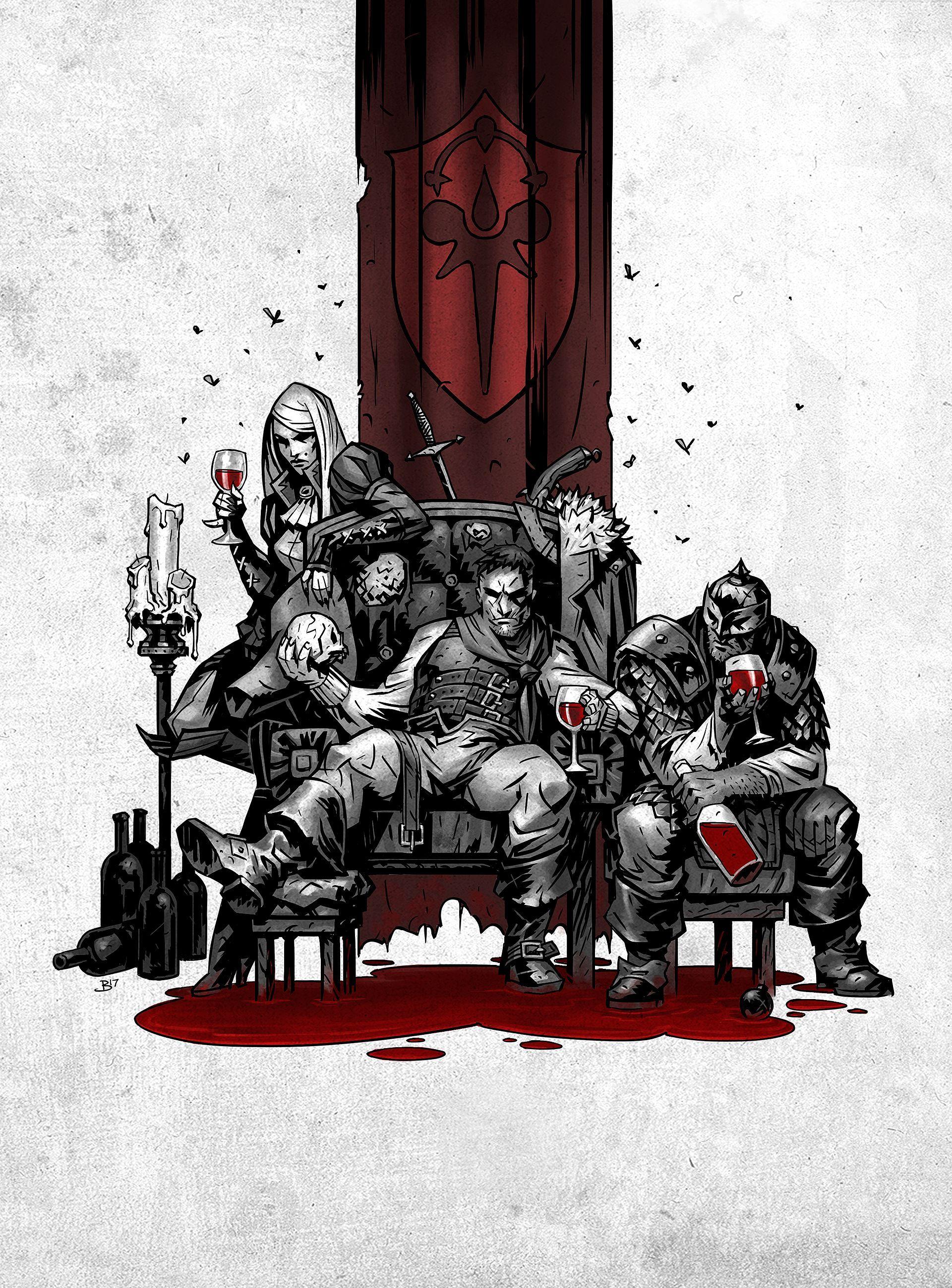 If It Bleeds Created For Darkest Dungeons Vampiresque Dlc The