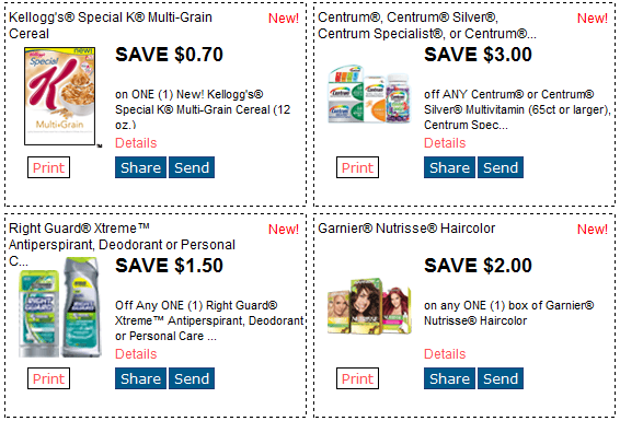 REDPLUM $$ New Printable Coupons Available – Special K, Right Guard, Garnier & More (7/15)!