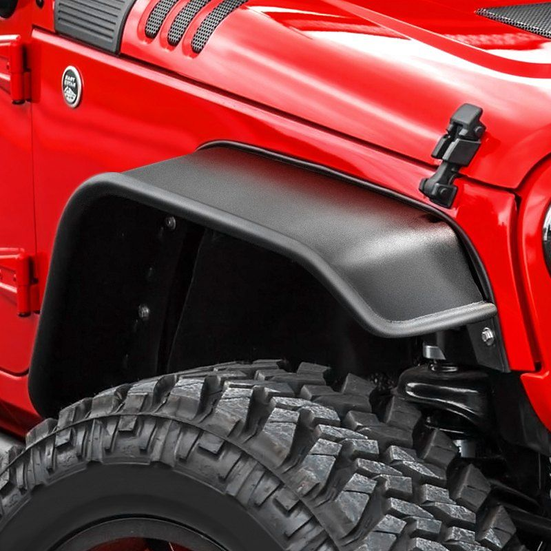 Ace Engineering Wide Front And Rear Tube Fender Flares Jeep