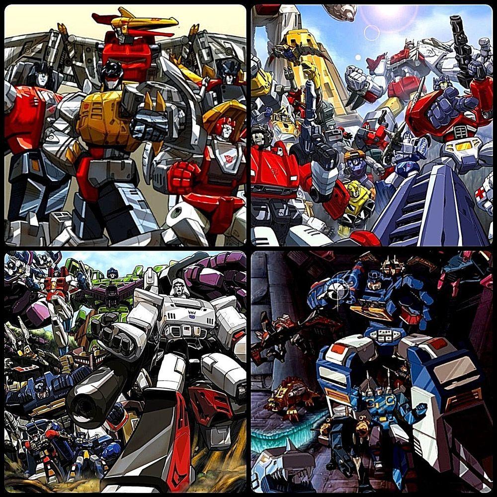 Transformers G1 4 Poster Set Soundwave Dinobots