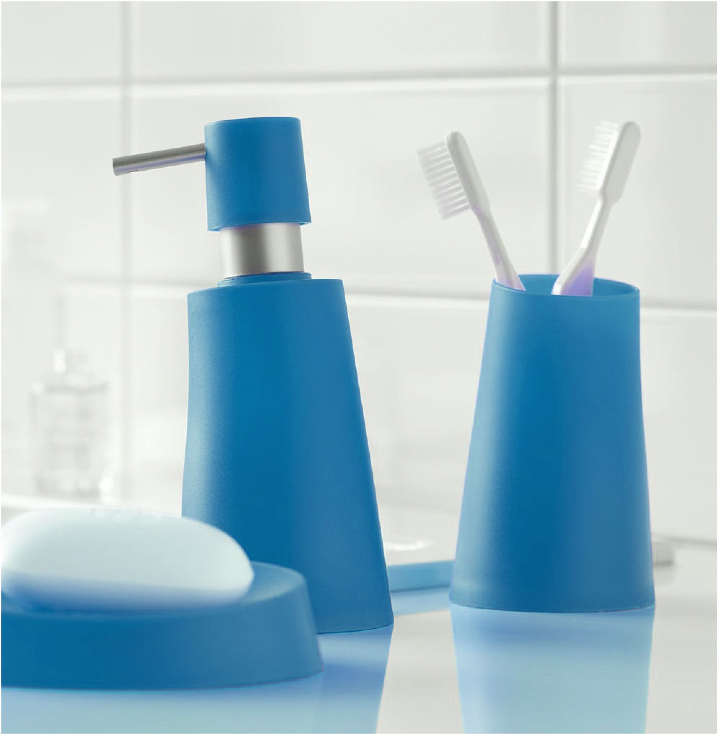 Blue Bathroom Accessories Spirella Move Bathroom Accessories In Blue Bathroom Blue Blue
