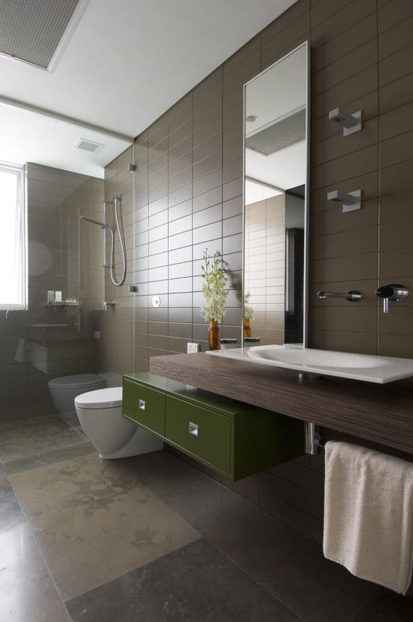 Redesigned Modern Interior in the Suburbs of Sydney | Salle de bains ...