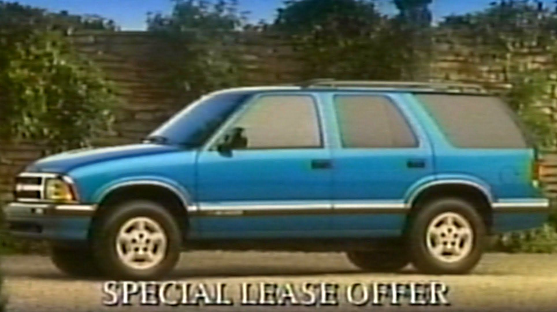 1994 Commercial Chevy Blazer Lease Offer W Janine Turner Chevy Janine Turner Youtube