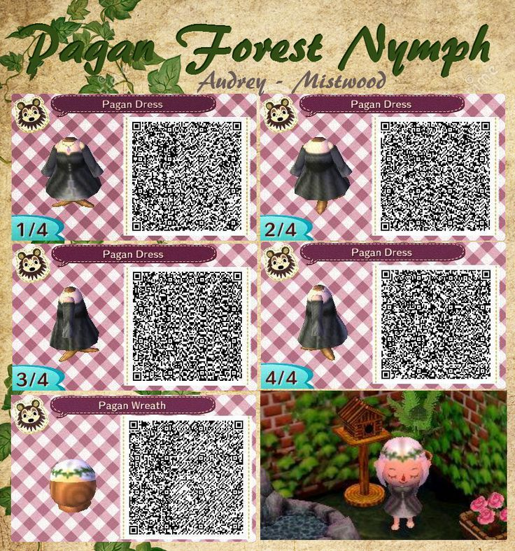 Image result for new leaf qr fall animal crossing new for Acnl boden qr codes