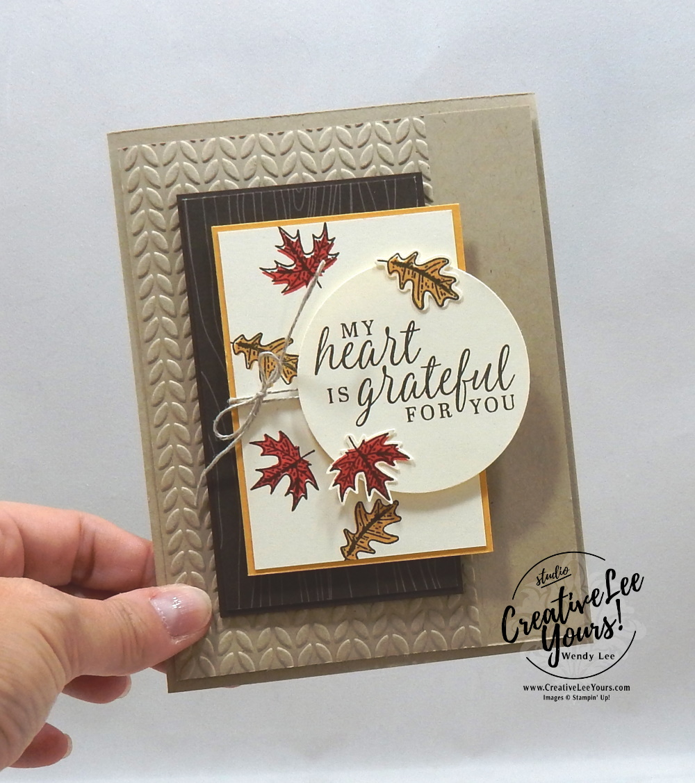 Falling Leaves Video In 2020 Tags Stampin Up Stampin Up Cards Handmade