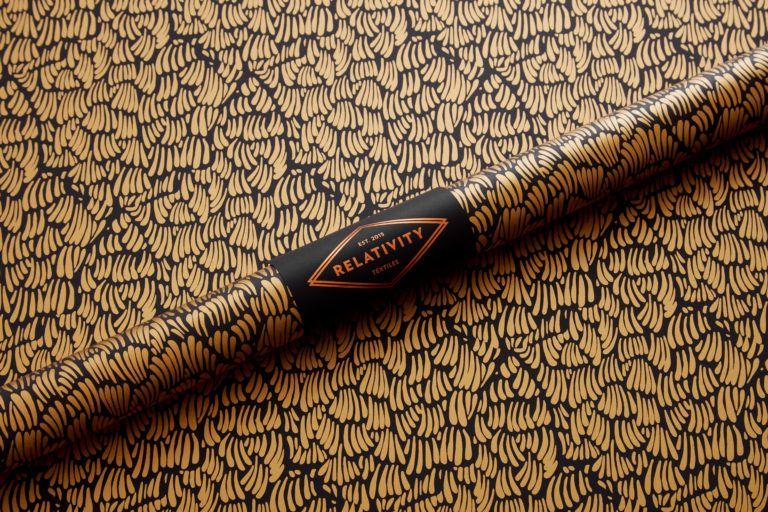 Gaar Black Black Textiles Pattern