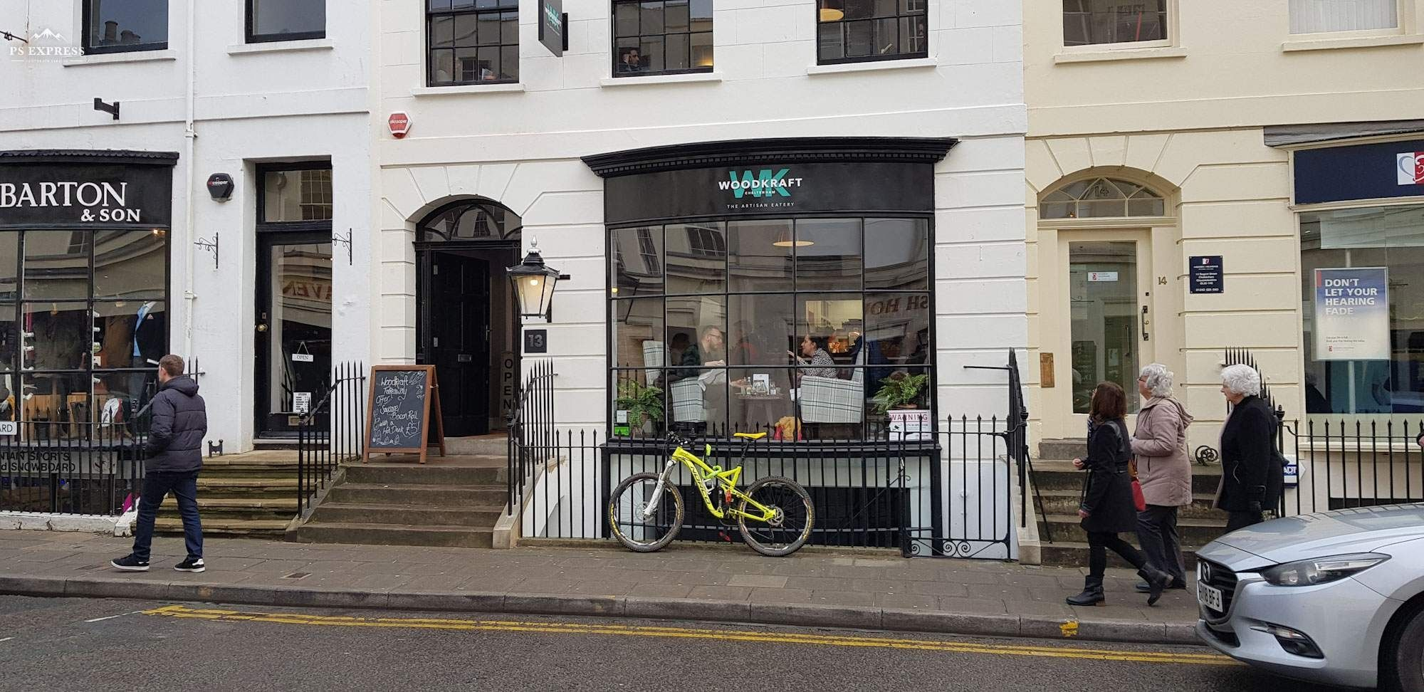 Woodcraft Cheltenham Restaurant Is Located On Regent Street Near To The Everyman Theatre And Has A Swish Exterior With A Cheltenham Masterchef Gloucestershire