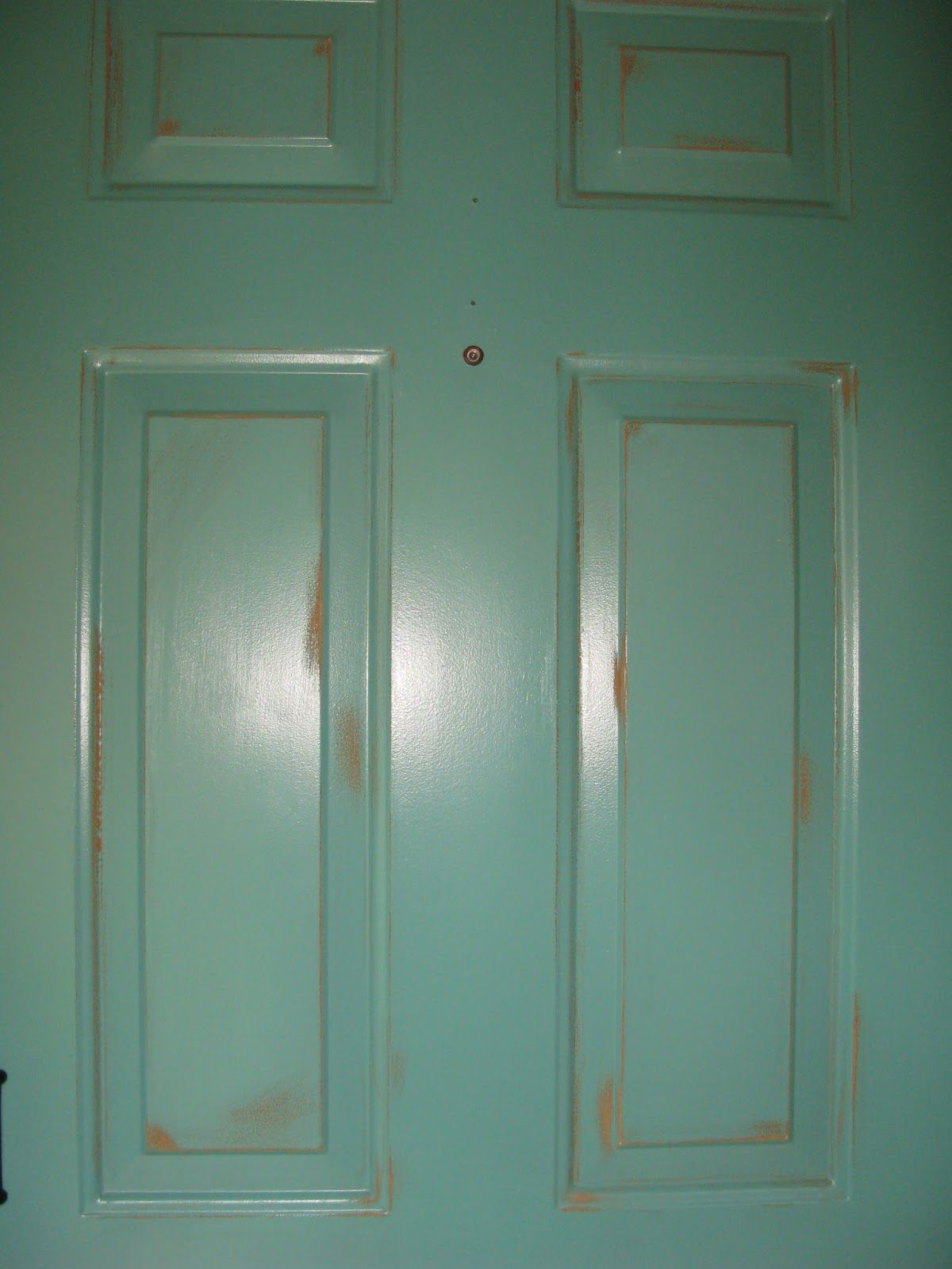 How To Paint And Distress Metal Door Google Search
