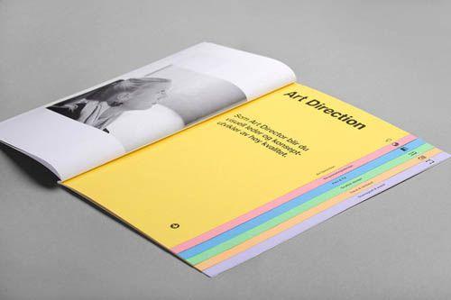 cool tabbed brochure designerd brochure design design booklet