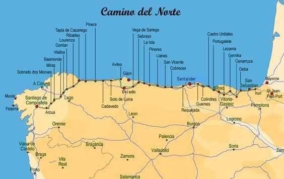Camino Del Norte Wandelen Reizen Vakantie