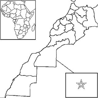 Marruecos Karten