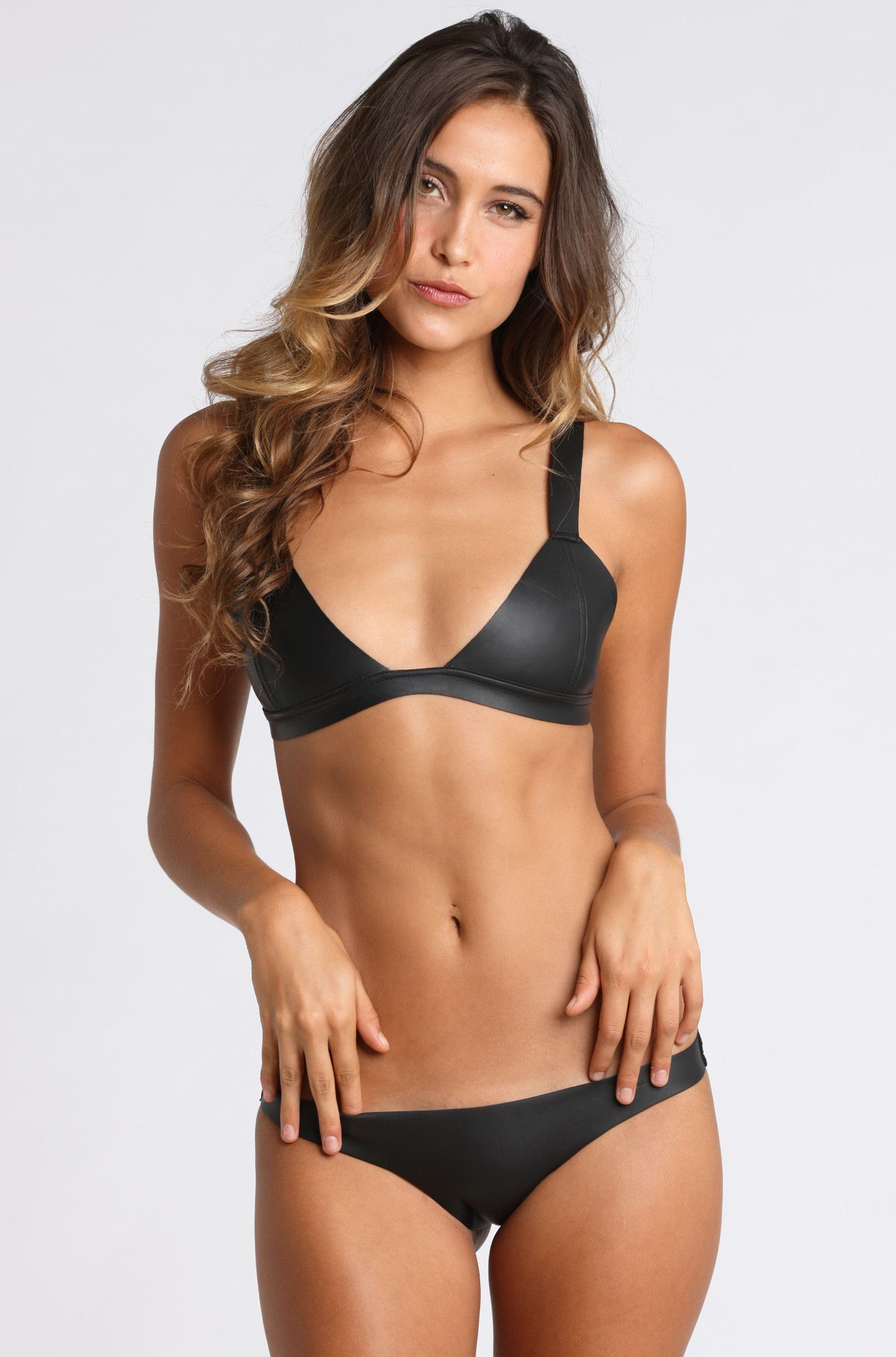 mikoh swimwear hana neoprene bikini top mikoh swimwear ishine365 1 swimwear pinterest. Black Bedroom Furniture Sets. Home Design Ideas