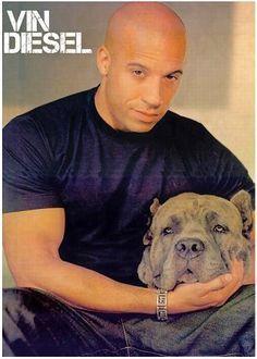 Vin Diesel Cane Corso Italian Mastiff Dogs Celebrity Dogs Vin Diesel