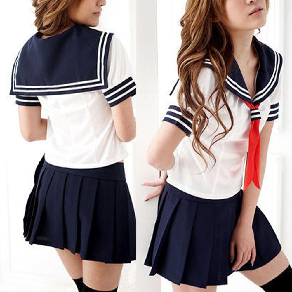 Cosplay Japanese School Girl Students Sailor Uniform Anime Fancy Dress Costume K Roupas Escolares Roupas Como Fazer Mascaras