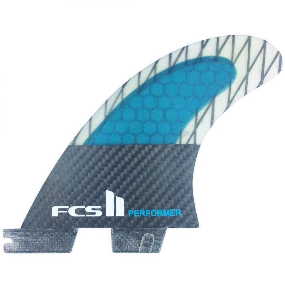 FCS II Performer PC Carbon Tri Surfboard Fins