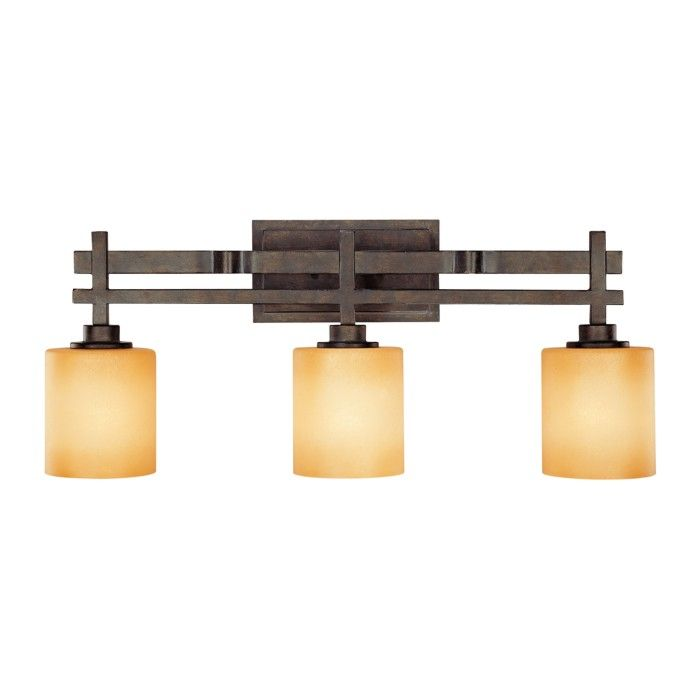 Craftsman Mission Bathroom Lighting Fixture Universe In A