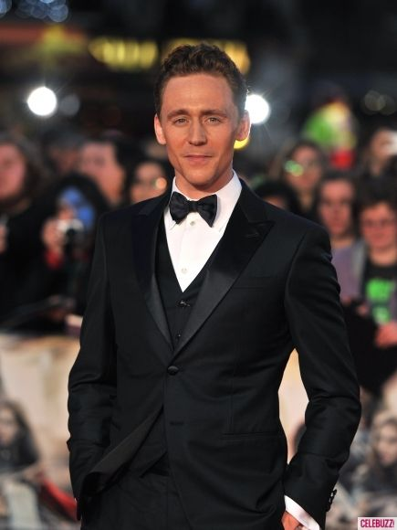 Tom Hiddleston proving the Tux is a classic at the Thor 2 Premiere