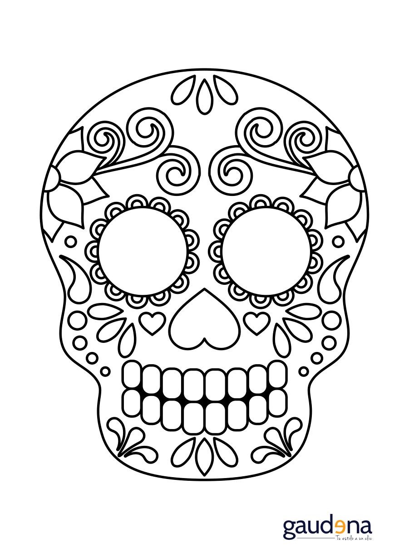 Manualidades De Dia De Muertos Manualidades De Dia De Muertos 6 Png 868 1228 Mascaras Dia De Muertos Dibujo Dia De Muertos Actividades Dia De Muertos