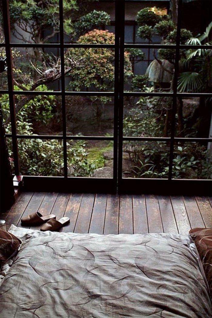 La d coration japonaise et l 39 int rieur japonais en 50 photos id es pour la maison int rieur - Chambre japonaise zen ...
