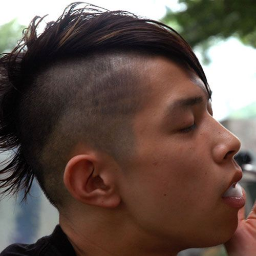 Nice Shaved Sides Hairstyles For Men