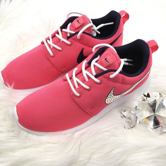 b80b950cfda Brand New Authentic Nike Roshe One Womens Casual Shoes with hundreds of  Beautiful SWAROVSKI® Crystals