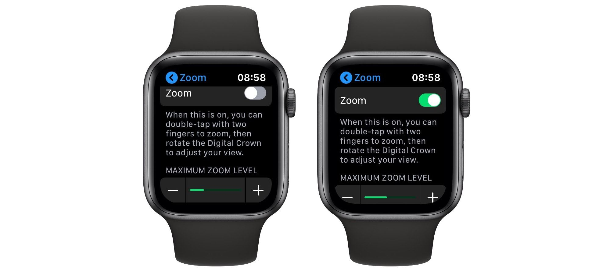 Apple Watch Zoom How to make Apple Watch easier to see