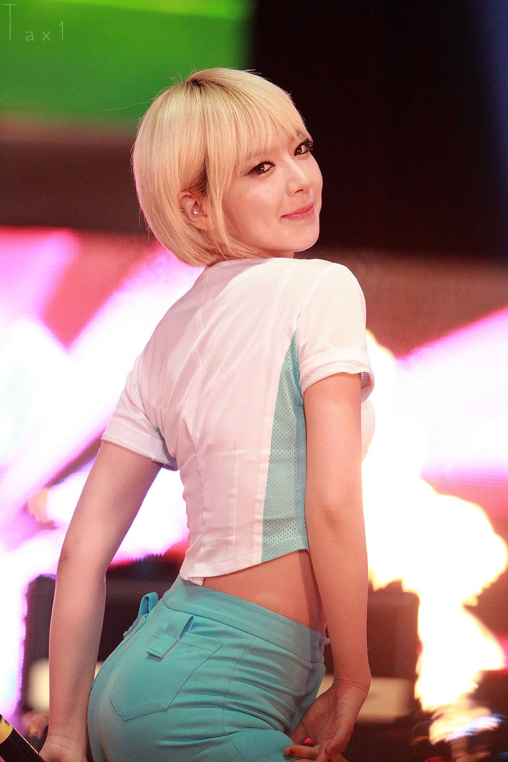 Aoa Chanmi Short Hair