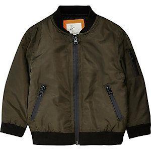 Mini boys khaki bomber jacket | STYLE | BOY | Pinterest | Babies ...