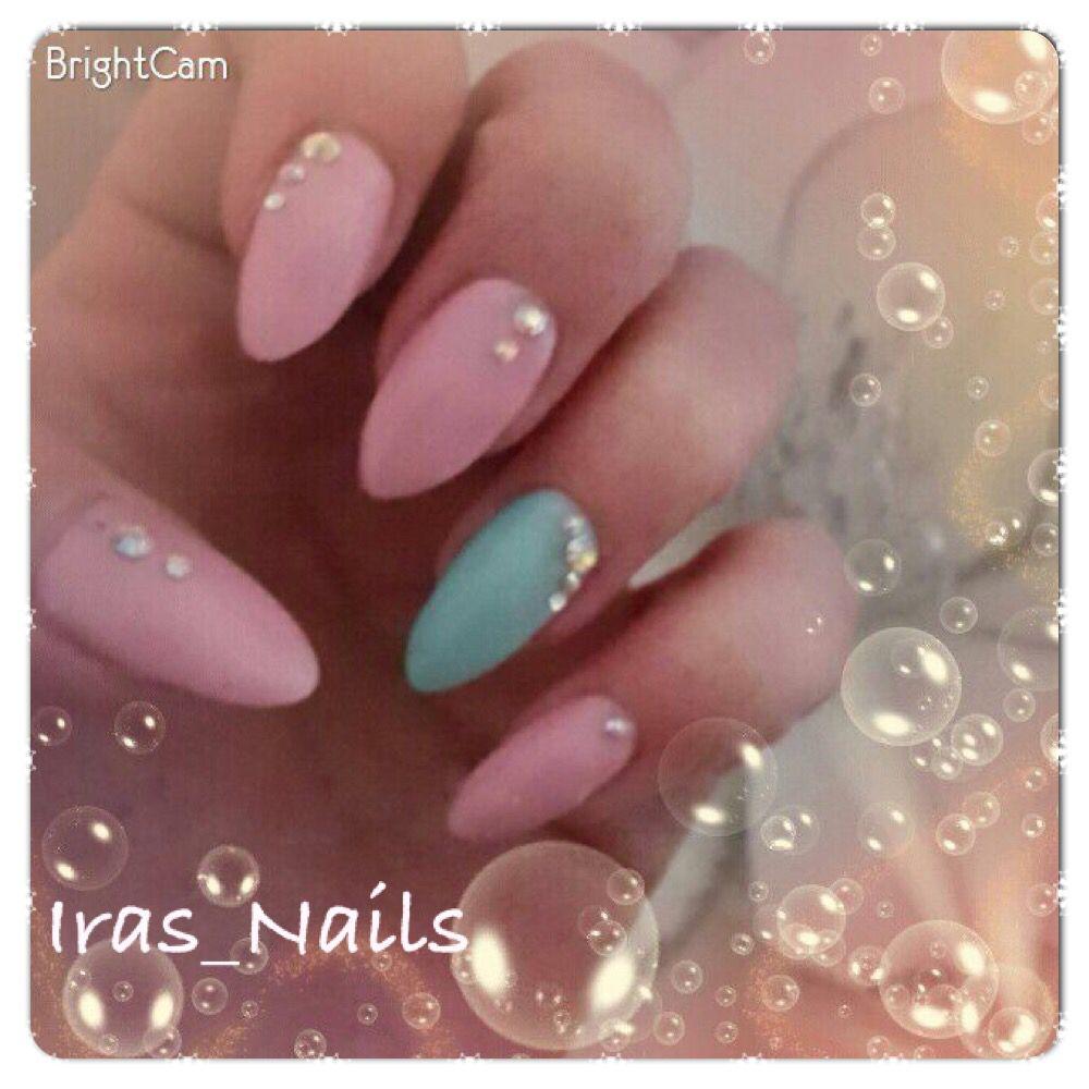 Pastell Nägel   Nagelkunst   Pinterest