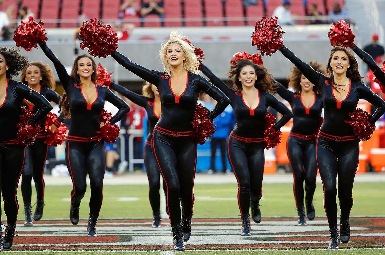 NFL Cheerleaders Week 5 Nfl cheerleaders, 49ers