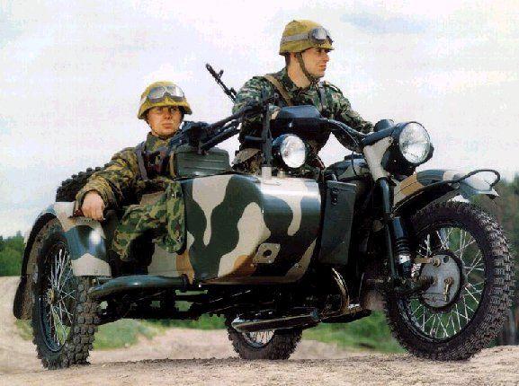 Military sidecar