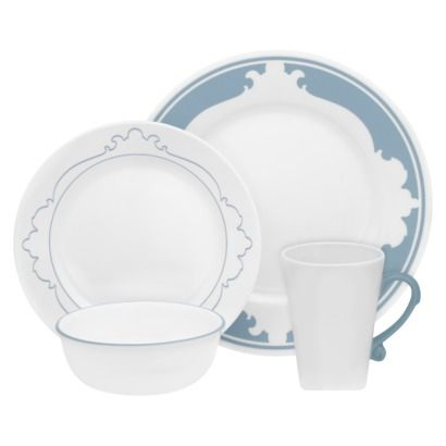 Love these Corelle dishes!  sc 1 st  Pinterest & Corelle B-Frames 16 Piece Dinnerware Set - Target (Dinning Room ...