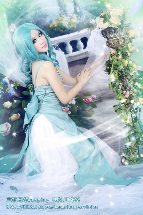 Click to Buy << Sailor Moon Princess Serenity Tsukino Usagi green ...