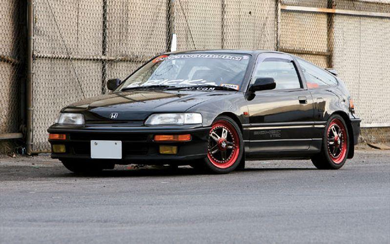 1991 Honda Crx Sir Right Hand Drive Get Real Wit Da Jdm Honda
