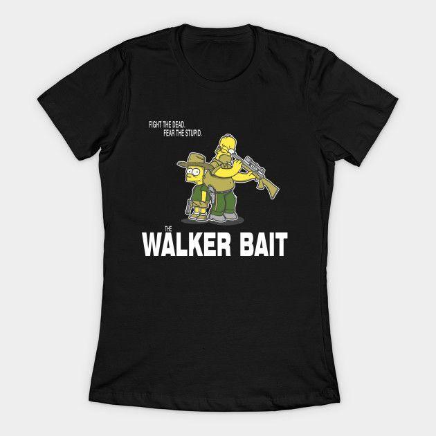 The Walker Bait Womens T-Shirt