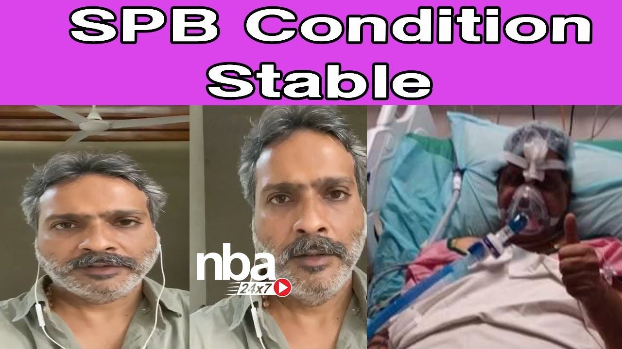 SPBalasubramaniyam SPB Condition Stable SP