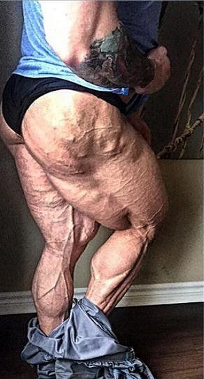 Piernas musculosas