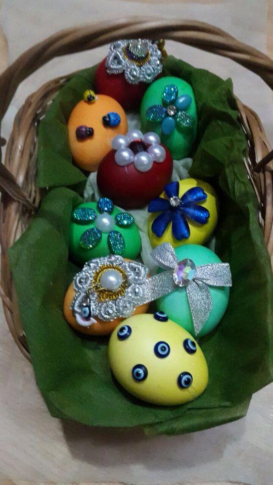 Novruz eggs