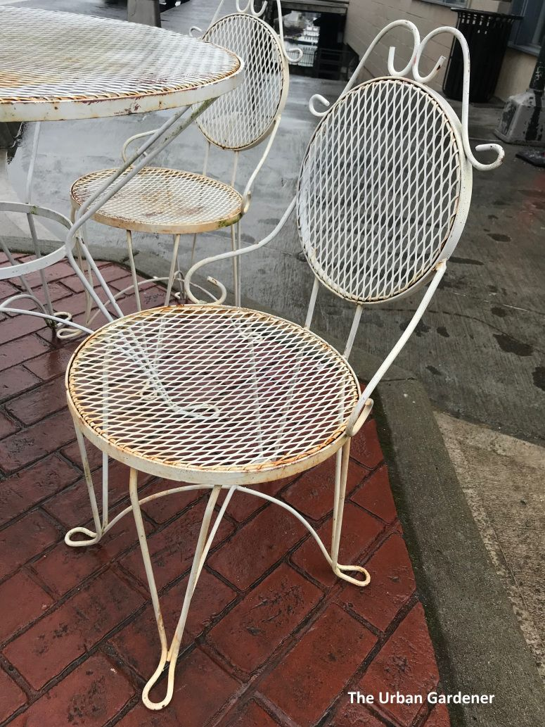 1960 S Wrought Iron Patio Set With Images Wrought Iron Patio