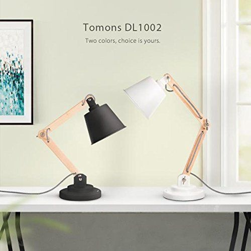 Amazon Com Tomons Natural Wood Desk Lamp Vintage Table Lamp For