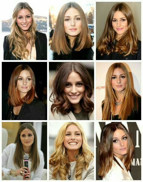 Op Color Chart Olivia Palermo Hair Hair Styles