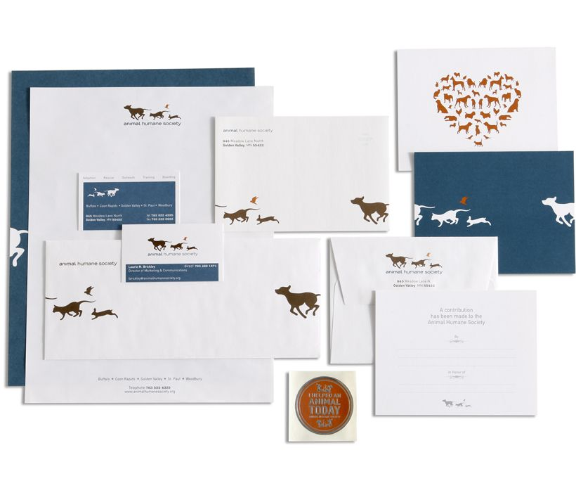 Animalhumanesociety Stationary Dog Logo Design Creative Branding Humane Society Logo