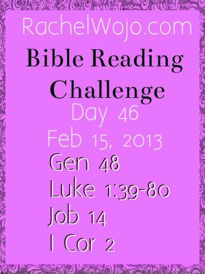 Day 46 Bible Reading Challenge
