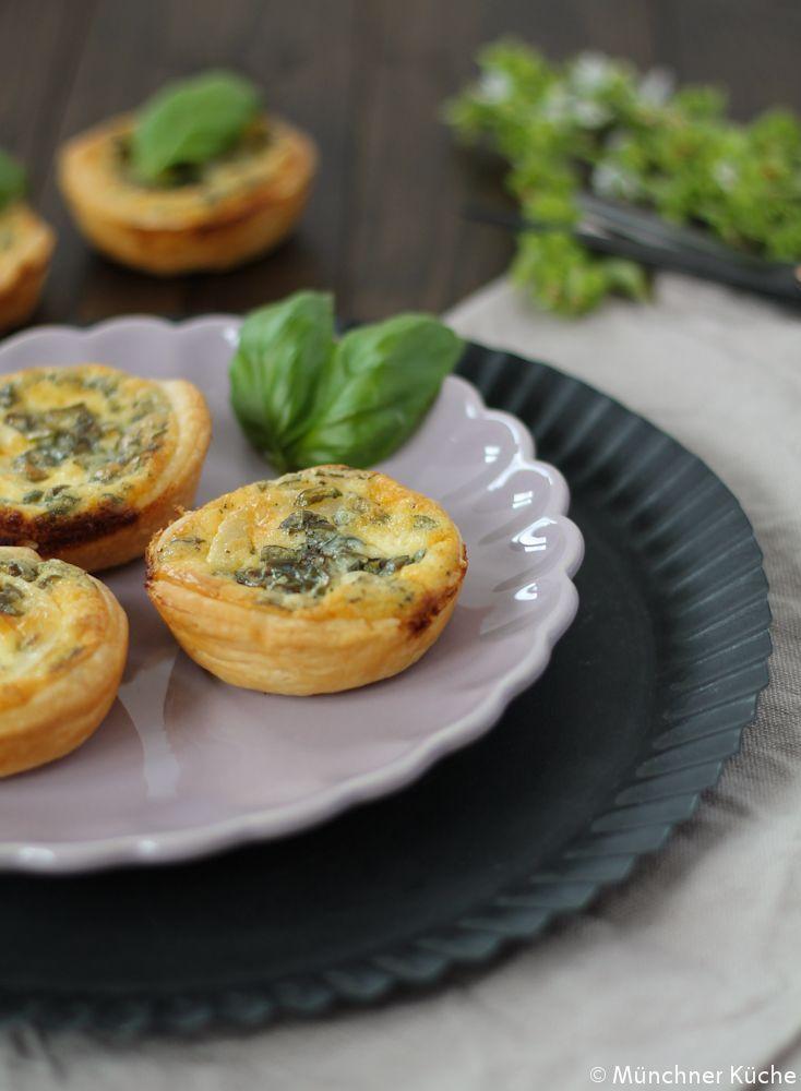 Ziegenkäse-Blätterteig-Muffins - münchner-küche
